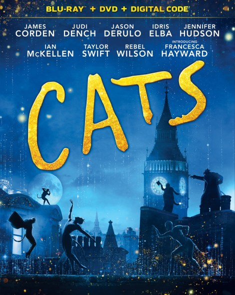 CATS; Arrives on Digital March 17 & On Blu-ray & DVD April 7, 2020 From Universal 2
