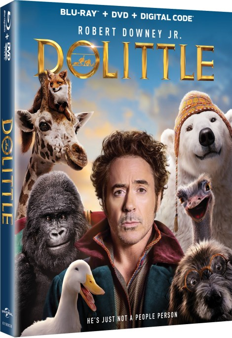Dolittle; Arrives On Digital March 24 & On 4K Ultra HD, Blu-ray & DVD April 7, 2020 From Universal 4