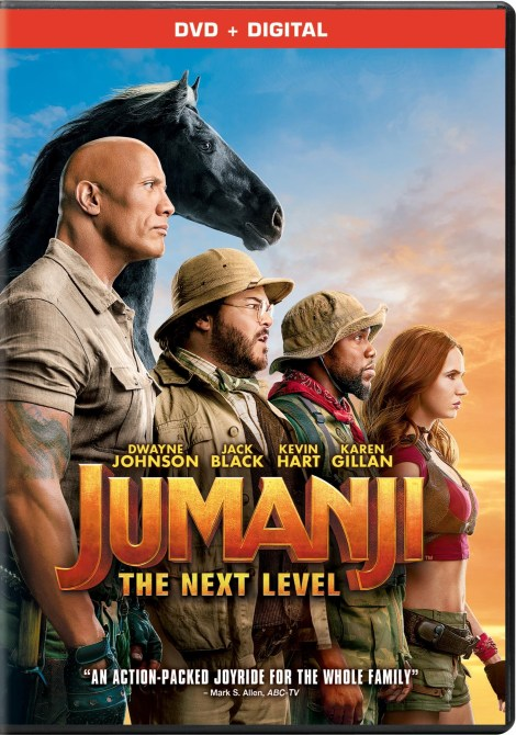 Jumanji: The Next Level; Arrives On Digital March 3 & On 4K Ultra HD, Blu-ray & DVD March 17, 2020 From Sony 4