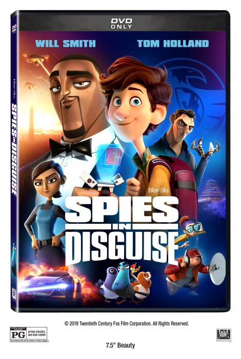 Spies In Disguise; Arrives On 4K Ultra HD, Blu-ray, DVD & Digital March 10, 2020 From Fox 5