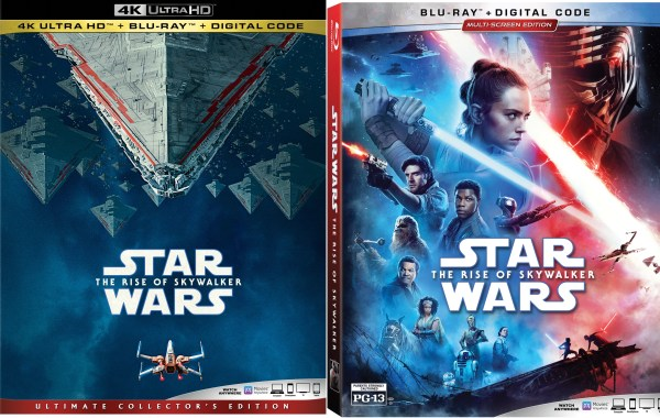 Star Wars The Rise of Skywalker UHD and BD art