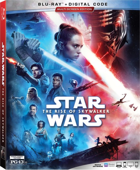 Star Wars: The Rise Of Skywalker; Arrives On Digital March 17 & On 4K Ultra HD, Blu-ray & DVD March 31, 2020 From Lucasfilm 4