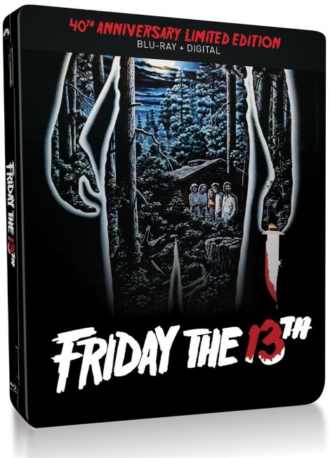 Friday The 13th: 40th Anniversary Limited Edition Steelbook; Arrives On Blu-ray May 5, 2020 From Paramount 1