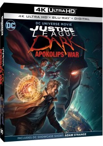 Justice League Dark Apokolips War 4K UHD artwork