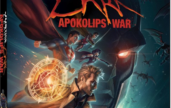 Justice League Dark Apokolips War 4K UHD artwork