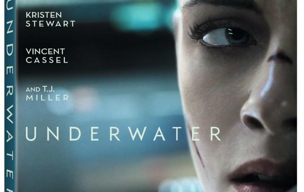 Underwater Blu ray artwork
