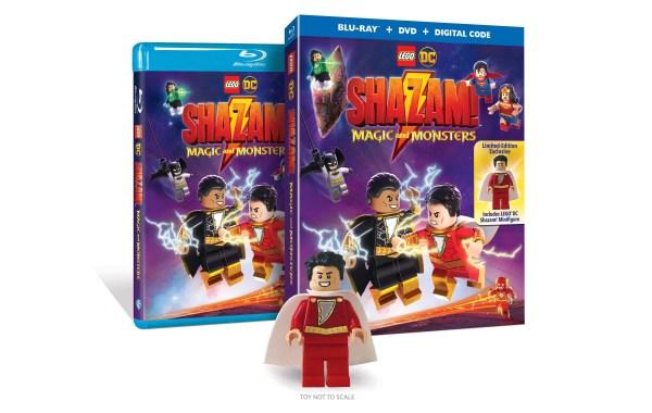 LEGO DC Shazam Blu ray featured image