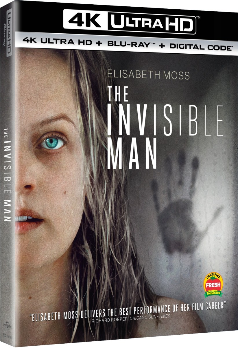 The Invisible Man 4K UHD, Blu ray, DVD Release Dates, Details, Artwork Featured Image