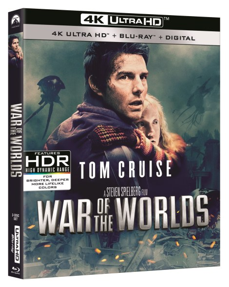 'Top Gun', 'Days Of Thunder' & 'War Of The Worlds'; All 3 Tom Cruise Films Debut On 4K Ultra HD May 19, 2020 From Paramount 6