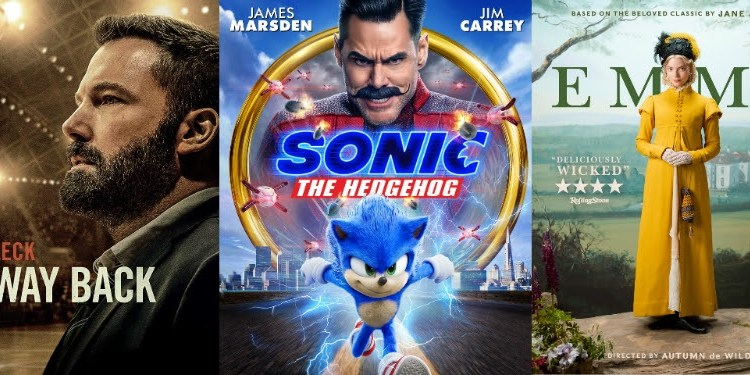 DEG Watched At Home Top 20 List For 05/28/20: Sonic The Hedgehog, The Way Back, Emma & More 6