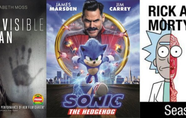 DEG Watched At Home Top 20 List For 06/04/20: Rick And Morty Season 4, The Invisible Man, Sonic The Hedgehog & More 1