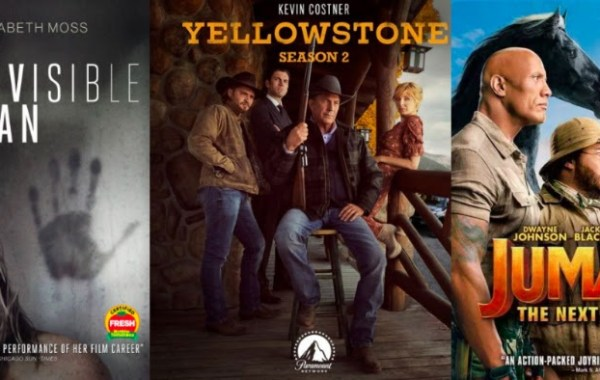 DEG Watched At Home Top 20 List For 06/25/20: The Invisible Man, Yellowstone: Season 2 & More 22