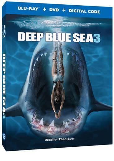 Trailer, Artwork & Release Details For 'Deep Blue Sea 3'; Arrives On Digital July 28 & On Blu-ray & DVD August 25, 2020 From Warner Bros 2