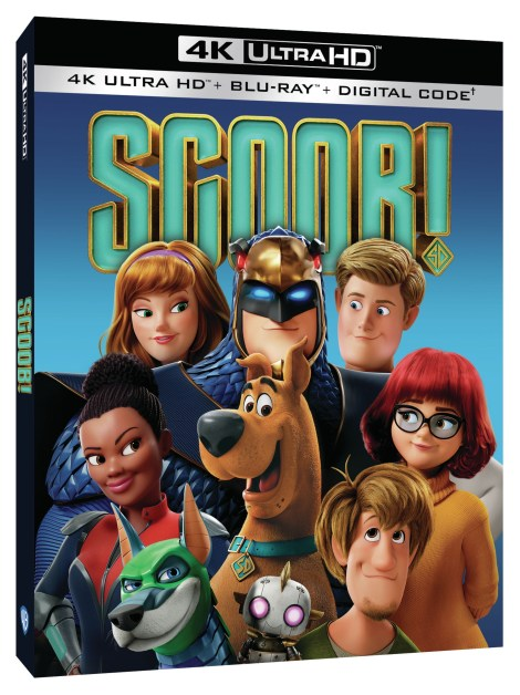 Scoob!; The New Animated Scooby-Doo Movie Arrives On 4K Ultra HD, Blu-ray & DVD July 21, 2020 From Warner Bros 2