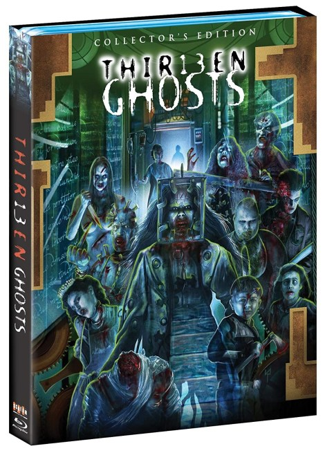 Full Details Revealed For 'Thir13en Ghosts' Collector's Edition; Arrives On Blu-ray July 28, 2020 From Scream Factory 3