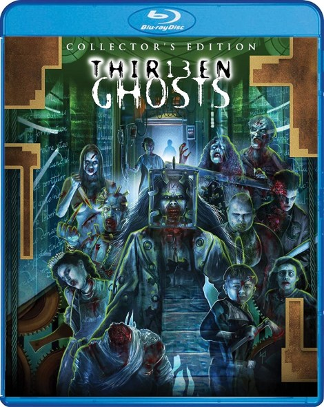 Full Details Revealed For 'Thir13en Ghosts' Collector's Edition; Arrives On Blu-ray July 28, 2020 From Scream Factory 4