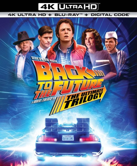 Back To The Future: The Ultimate Trilogy; Arrives On 4K Ultra HD & Blu-ray October 20, 2020 From Universal 4