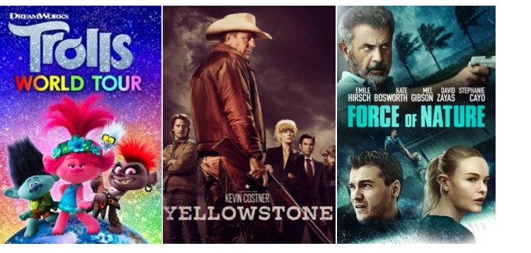 DEG Watched At Home Top 20 List For 07/09/20: The Outpost, Yellowstone, Trolls World Tour 13