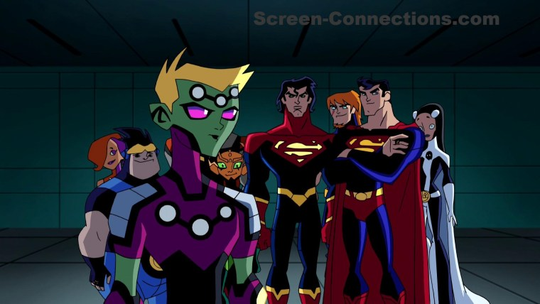Legion Of Super Heroes The Complete Series Blu ray Review image