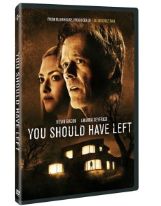 You Should Have Left DVD Release Date, Details and Artwork image