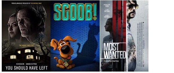 DEG Watched At Home Top 20 List For 08/06/20: You Should Have Left, Deep Blue Sea 3, Most Wanted 4