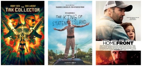 DEG Watched At Home Top 20 List For 08/20/20: The King Of Staten Island, The Tax Collector 1
