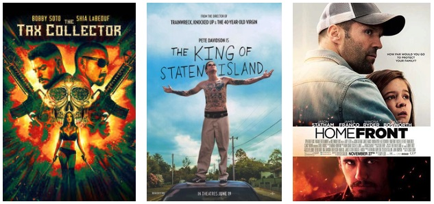 DEG Watched At Home Top 20 List For 08/20/20: The King Of Staten Island, The Tax Collector 5