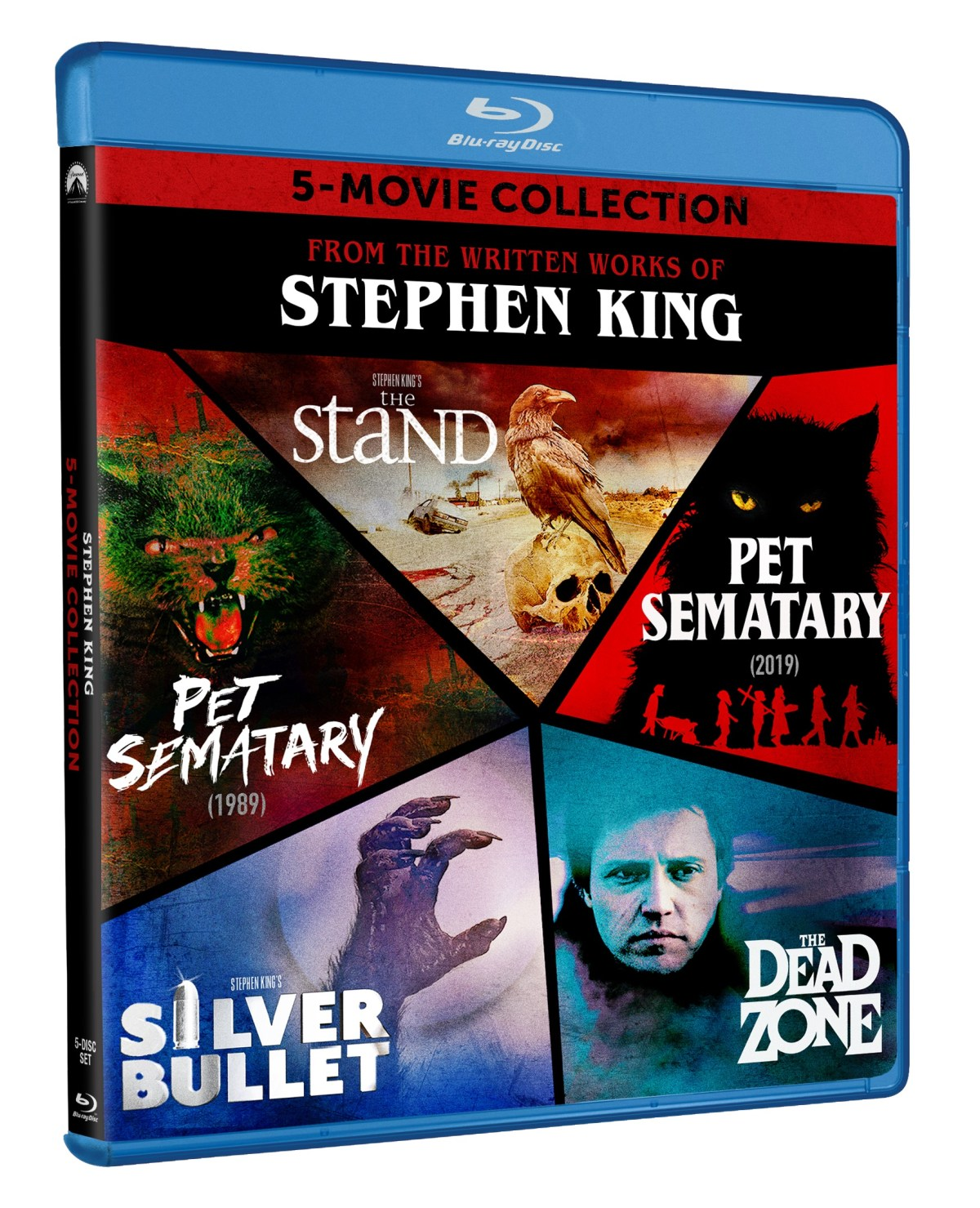 From The Written Works Of Stephen King; The 5-Movie Collection Arrives On Blu-ray September 15, 2020 From Paramount 14