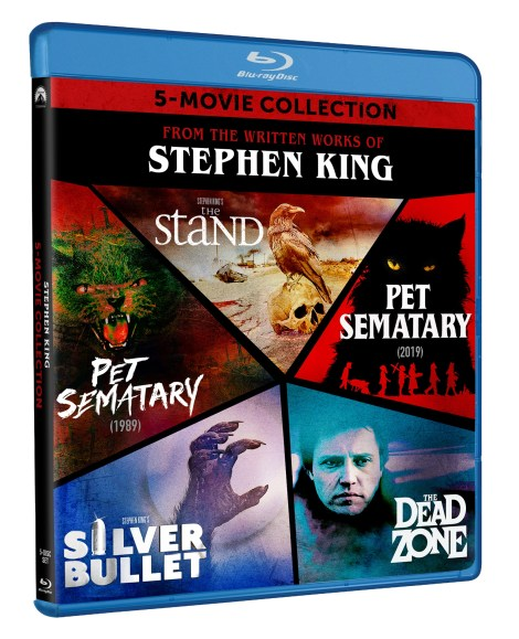 From The Written Works Of Stephen King; The 5-Movie Collection Arrives On Blu-ray September 15, 2020 From Paramount 3
