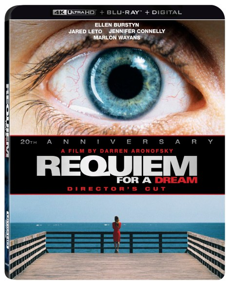 Requiem For A Dream; Debuting On 4K Ultra HD With New Extras October 13, 2020 From Lionsgate 4