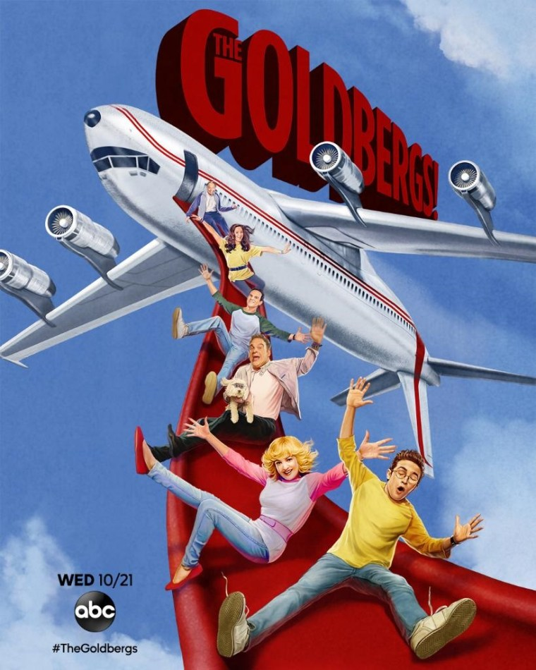 ABC Reveals October 2020 Premiere Dates & Social Promos/Artwork For 'The Goldbergs', 'The Conners', 'Black-ish' & 'American Housewife' 4