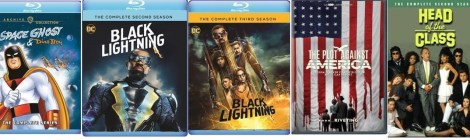 Warner Archive: October 2020 TV New Releases: 'Black Lightning: Season 2 & 3 Blu-ray' 'Space Ghost & Dino Boy Blu-ray' & More 8