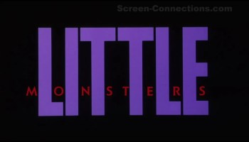 little monsters vestron blu ray review