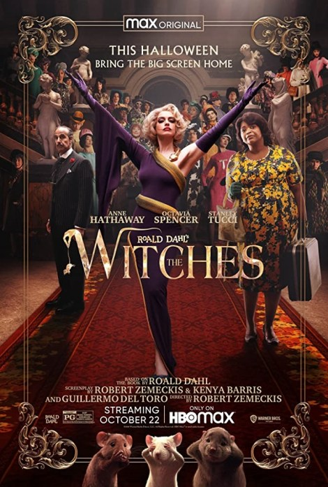 'The Witches'; The First Trailer & Poster For The Robert Zemeckis Adaptation Reveal The Film's HBO Max Debut This Month! 2
