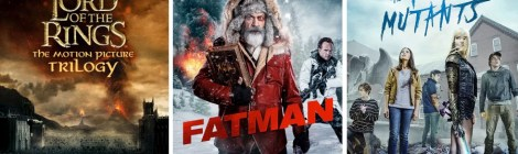 DEG Watched At Home Top 20 List For 12/10/20: The Lord Of The Rings, Fatman 38