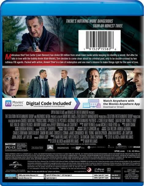 'Honest Thief'; Arrives On Digital December 8 & On Blu-ray & DVD December 29, 2020 From Universal 4