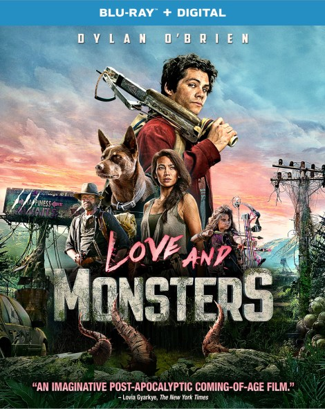 'Love And Monsters'; Arrives On 4K Ultra HD, Blu-ray & DVD January 5, 2021 From Paramount 5