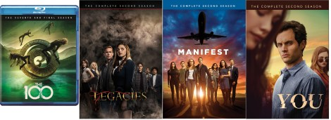 Warner Archive: January 2021 TV New Releases: 'Legacies: Season 2', 'Manifest: Season 2' & More 1