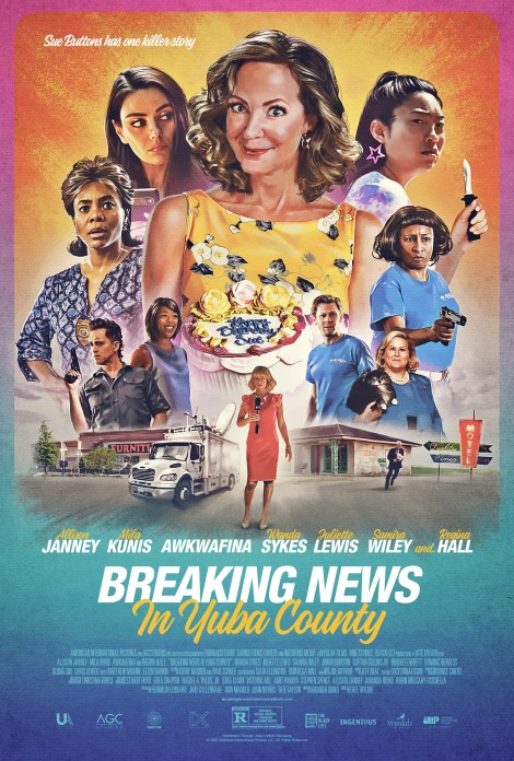 'Breaking News In Yuba County'; Things Get Wild In The First Trailer & Poster For The Dark Comedy Starring Allison Janney 1