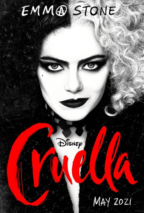Disney's 'Cruella'; The First Trailer & 2 Posters For The Live-Action Film Starring Emma Stone Have Arrived 1