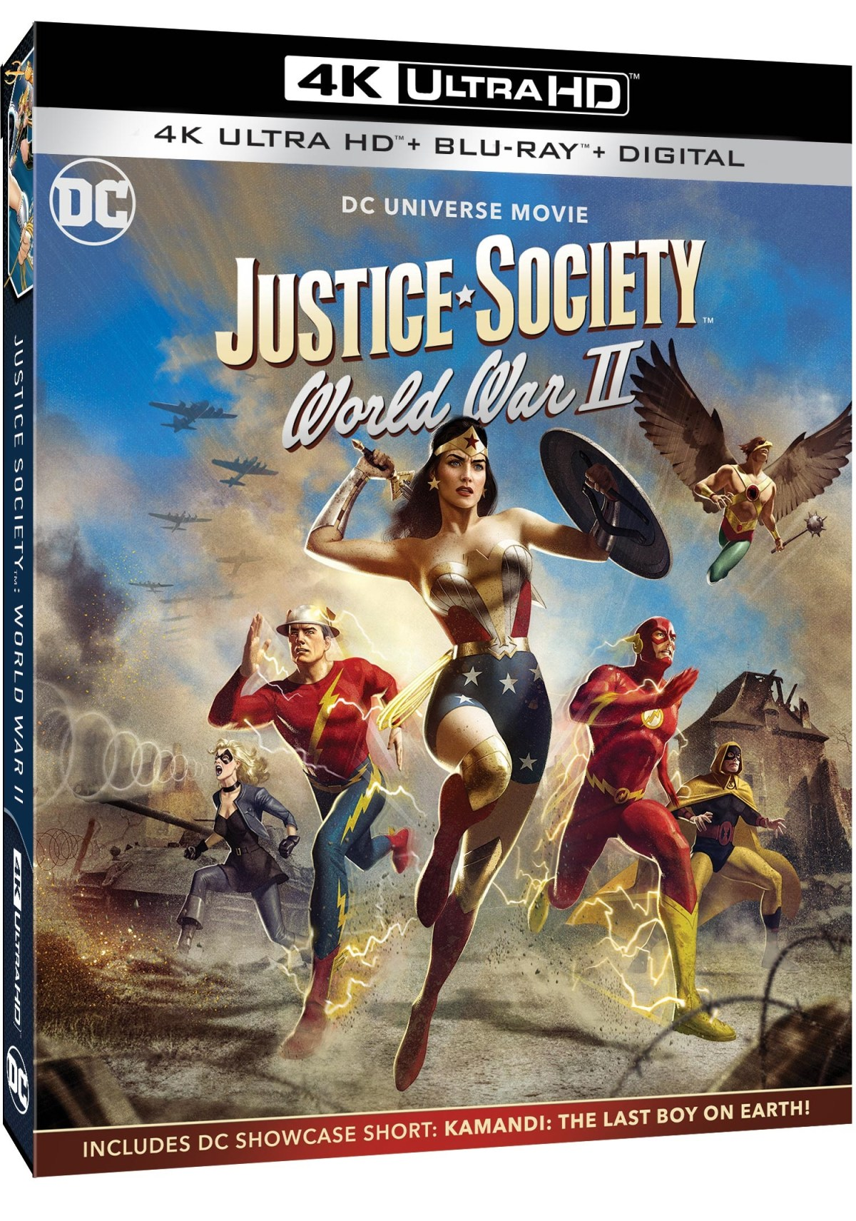 justice society world war ii