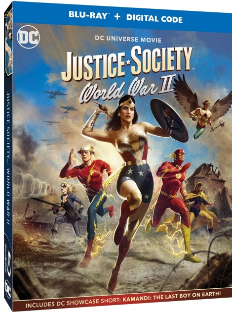 Trailer, Artwork & Release Details For 'Justice Society: World War II'; Arrives On Digital April 27 & On 4K Ultra HD & Blu-ray May 11, 2021 From DC - Warner Bros 1