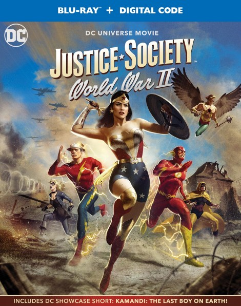 Trailer, Artwork & Release Details For 'Justice Society: World War II'; Arrives On Digital April 27 & On 4K Ultra HD & Blu-ray May 11, 2021 From DC - Warner Bros 2