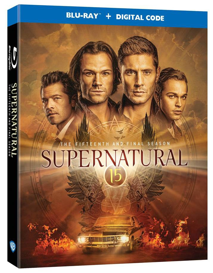 'Supernatural: The Complete Fifteenth & Final Season' & 'Supernatural: The Complete Series' Arrive On Blu-ray & DVD May 25, 2021 From Warner Bros 8