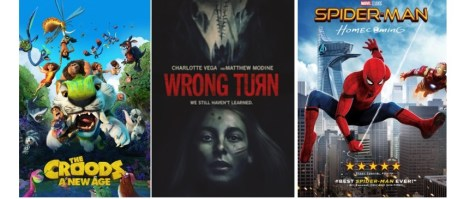 DEG Watched At Home Top 20 List For 03/04/21: The Croods: A New Age, Wrong Turn 5