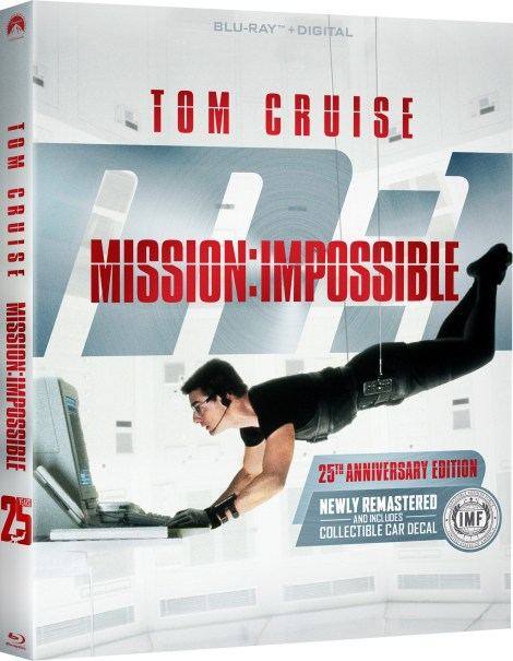 mission impossible 25th anniversary blu ray