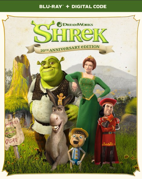 Shrek: 20th Anniversary Edition; Debuts On 4K Ultra HD & On Blu-ray & DVD May 11, 2021 From DreamWorks - Universal 15