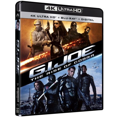 'G.I. Joe: The Rise Of Cobra' & 'G.I. Joe: Retaliation'; Arriving Separately On 4K Ultra HD July 20, 2021 From Paramount 1