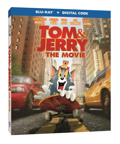 'Tom & Jerry'; The New Movie Arrives On Blu-ray, DVD & Digital May 18, 2021 From Warner Bros 1