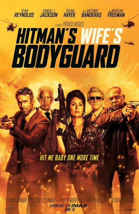 'Hitman's Wife's Bodyguard'; The Hilarious & Explosive New Trailer & Poster For The Sequel Are Here 2